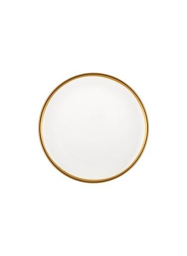 The Mia Halos Pasta Tabağı 6 Parça Altın Altın